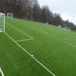 3G Rugby Pitch Construction in Aller Park 4