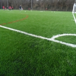 3G Rugby Pitch Construction in Aller Park 9