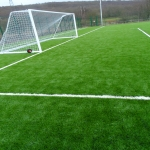 3G Rugby Pitch Construction in Aller Park 11