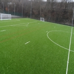 3G Rugby Pitch Construction in Aller Park 1