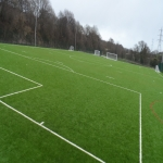 3G Rugby Pitch Construction in Aller Park 5