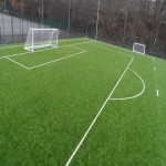 3G Rugby Pitch Construction in Elerch/Bont-goch 8