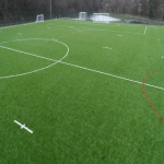 3G Rugby Pitch Construction in Barnard Gate 6
