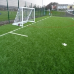3G Rugby Pitch Construction in Aller Park 10
