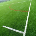 3G Rugby Pitch Construction in Alva 2