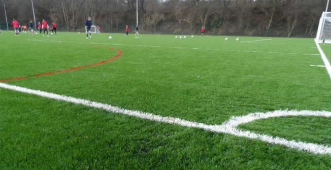 3G Rugby Surface Designs in Ardlawhill