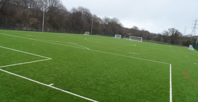 Synthetic Pitch Architects in Andover Down