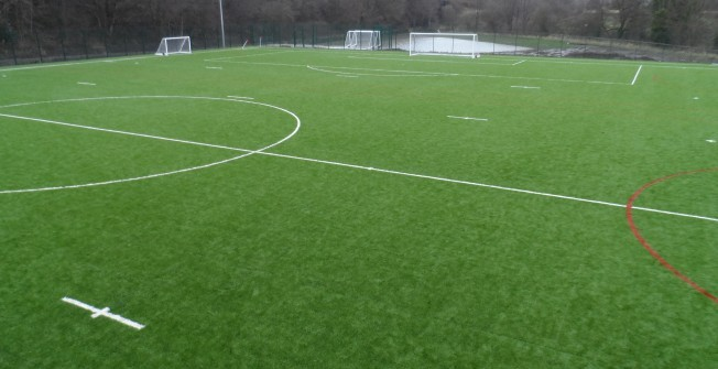 Artificial Rugby Pitches in Aber-banc