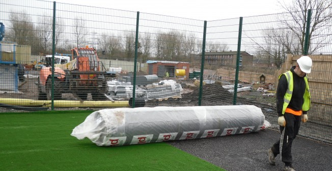 Synthetic Pitch Replacement in Aldfield