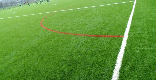 3G Rugby Surfacing in Cascob