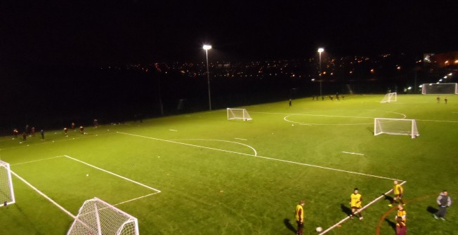 Synthetic Rugby Facilities in Cumbernauld Village