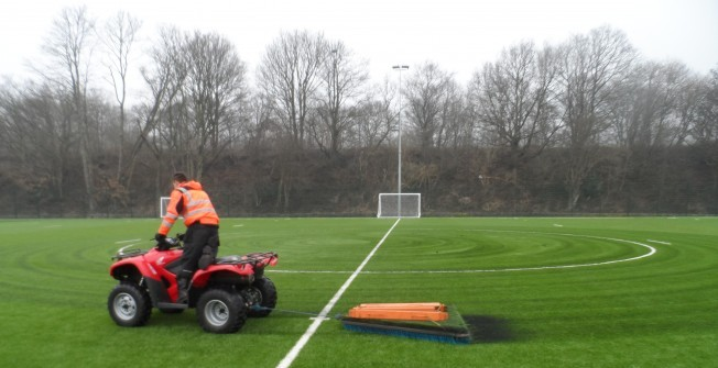 Synthetic Rugby Pitches in Handside